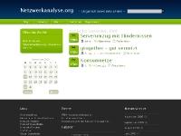 Netzwerkanalyse.org Archivansicht