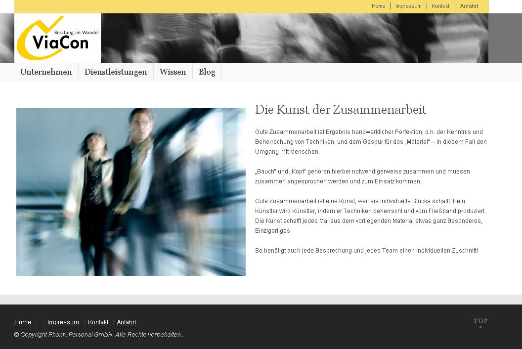 ViaCon-Beratung.de Startseite